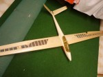 RC1-Kunstflugsegler Salto 230cm Spannweite,V-Leitw