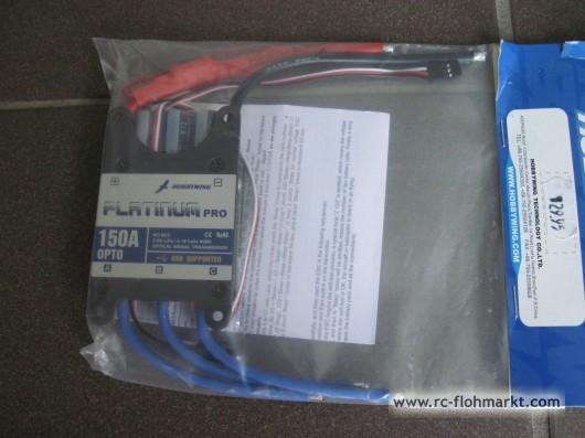 Flugregler Platinum PRO 150A 2-6 LIPO NEU