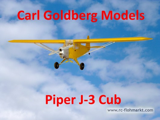 Piper J-3 Cup - Carl Goldberg Models Inc.