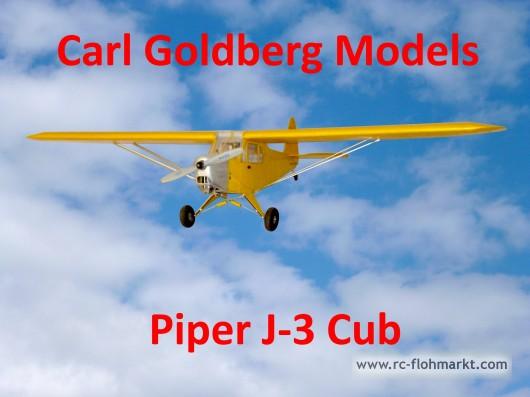Piper J-3 Cup - Carl Goldberg Models Inc.