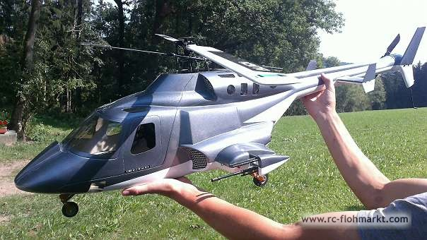 Airwolf 600 Scale-Helikopter