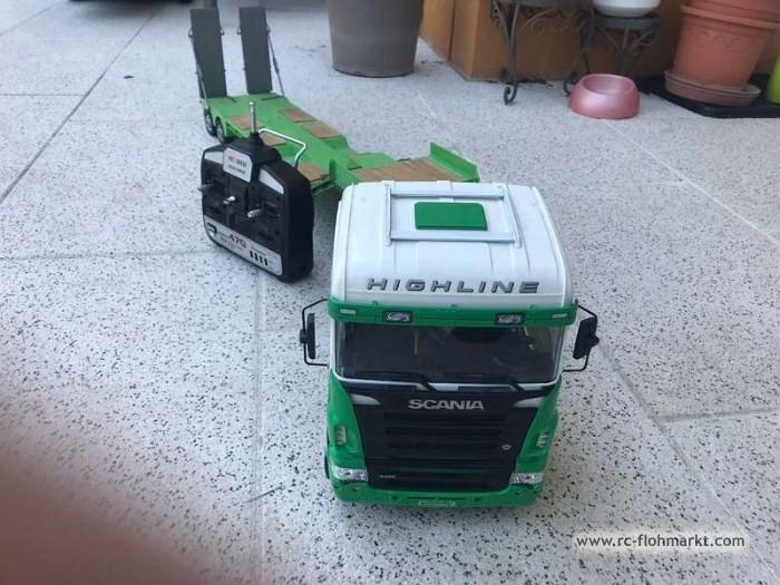 Tamiya Scania inkl. Tieflader
