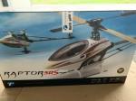 RC-Hubschrauber Raptor 50s Komplettset