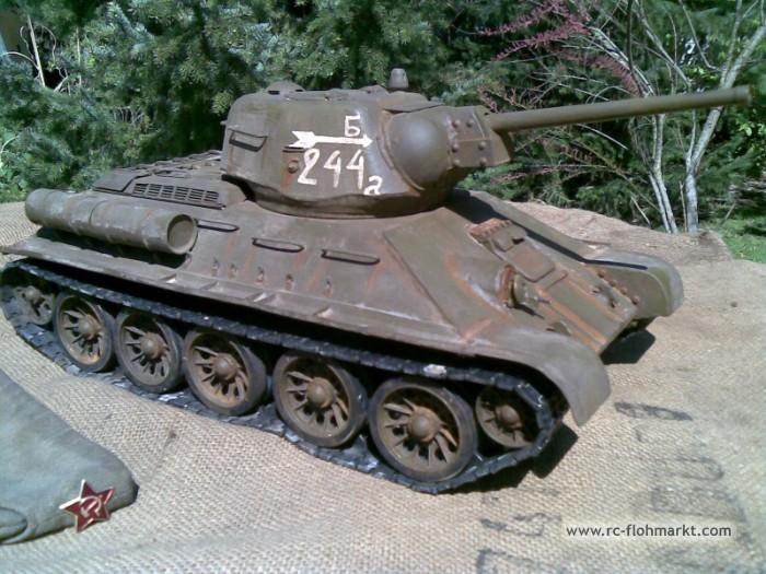 T-34/76 Panzer aus STAHL scale 1/16