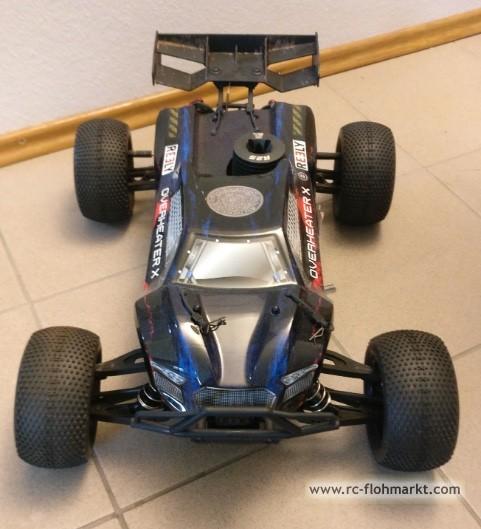 Nitro truggy Overheater 1:8 2,1PS 4WD