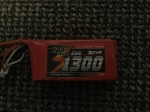 Lipo Cracker 11,1V 1300mAh 25C