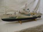 Schiffsmodell H.M.C.S.Snowberry 1:72 mit Plan